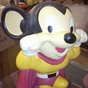Amazing Terrytoons Viacom Mighty Mouse cookie jar
