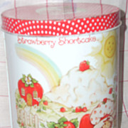 Vintage Strawberry Shortcake cookie jar