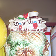 SALE Charming Vintage McCoy Owls cookie jar