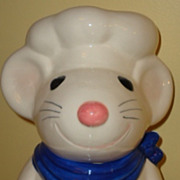 Vintage Metlox Baker Mouse cookie jar