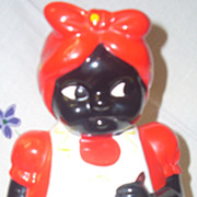 Sweet Aunt Jemima Mammy cookie jar African American