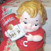 Cute Campbell Kid cookie jar