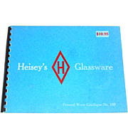 1974 Reprint Heisey Glassware Catalog No. 109