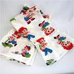 Pair of Raggedy Ann and Andy Ruffled Window Curtains