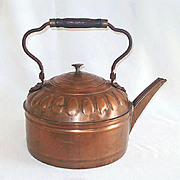 SALE 6 Quart Antique Copper Water Kettle