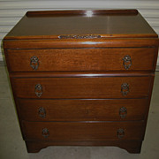 Antique English Oak Chest of Drawers ~ English Chest