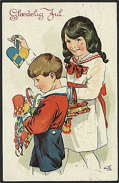 &quot;Sorting out the Christmas Decoration&quot;  (1930)