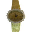 14 Karat Yellow Gold Geneve Diamond Watch