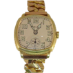 14 Karat Yellow Gold Men�s Hamilton Manual Wind Watch