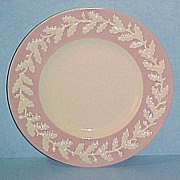 "RARE Metlox Pottery Pink ROYAL OAK 6-3/4"" Bread & Butter Plate"