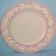 "RARE Metlox Pottery Pink ROYAL OAK 10-3/4"" Dinner Plate"