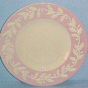 "RARE Metlox Pottery Pink ROYAL OAK 7-3/4"" Salad Plate"