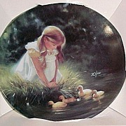 ZOLAN Miniature GOLDEN MOMENT Collector Plate in Box