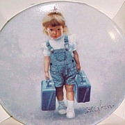 SOLD ZOLAN Miniature LITTLE TRAVELER Collector Plate in Box