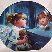 ZOLAN Miniature WINDOW OF DREAMS Collector Plate in Box