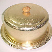 West Bend Aluminum Cake Saver Keeper With Acorn Handle