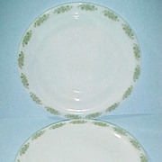 Anchor Hocking Glass Springwood 2 Dinner Plates