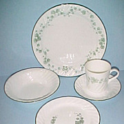 Corning Ware Corelle CALLAWAY Ivy 5 Piece Place Setting - quantities available