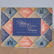 Pillsbury�s Diamond Anniversary Recipes Cookbook WWII Cook Book Advertising