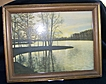 David Davidson Closed Frame Hand Colored Photograph titled Sunset Point RI