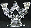 Cambridge Keyhole 2 Light Candle Holder Number 647