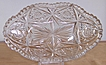 Signed Libbey ABP Cut Glass Gem Spoon Tray