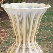 Stunning Fenton No. 3212 AO Autumn Gold Vase