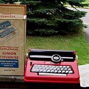 Tom Thumb Junior Typewriter with Original Box / Instructions