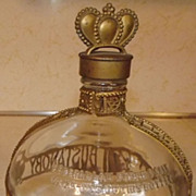 REDUCED Vintage Bustanoby Forbidden Fruit miniature French Liqueur 4/5 quart bottle
