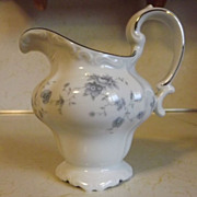REDUCED Johann Haviland Blue Garland china creamer Bavaria Germany