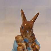 SALE Beswick Beatrix Potter BP3b Mrs. Rabbit & Bunnies Figurine 1974 - 1985