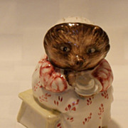 SALE Beswick Beatrix Potter BP3b Mrs. Tiggy Winkle Takes Tea 1974 - 1985
