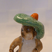 SALE Beswick Beatrix Potter BP3b Benjamin Bunny Figurine 1974 - 1985