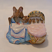 SALE Beswick Beatrix Potter BP3c Hunca Munca 1985 - 1988