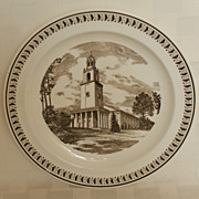 Wedgwood Emory University in Alanta Glenn Memorial Church Plate