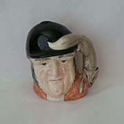 Royal Doulton Gone Away D 6538 Small Character Jug