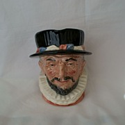 SALE Royal Doulton Large Beefeater D 6206 Character Jug