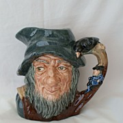 SALE Royal Doulton Large Rip Van Winkle D6438 Jug