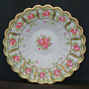 REDUCED Nippon Morimura Roses & Gold Trinket Dish