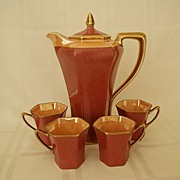 SALE Noritake Art Deco Chocolate Set