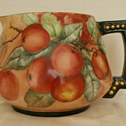 SALE Limoges Apples Decorated Cider Pitcher 1891 - 1932