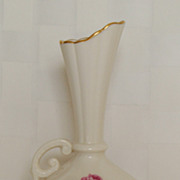Vintage Lenox Rose 28/J300 Single Handle Bud Vase