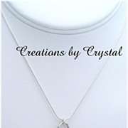 Sterling Silver Charm Necklace *** Favorites of Fall ***