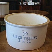 SALE Zanesville Pottery Co. Advertising Crock