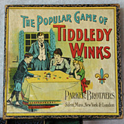 Parker Brothers, The Popular Game of Tiddledy Winks