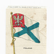 SALE 1820-1917 Kingdom of Poland National Flag Tobacco Premium - Early 1900s Vintage Cigarette
