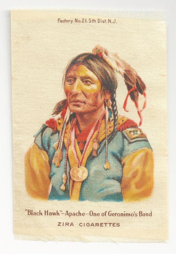 Native American Apache Chief Black Hawk Tobacco Premium