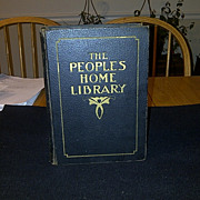 SALE The People's Home Library 1917 City Edition - Medical, Nursing, Recipe and Domestic Scien