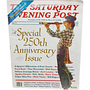 SALE Saturday Evening Post Magazine 250th Anniversary Issue � August 1977 � Cover Art by Norma