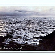 SALE 1930s View of Clouds from Mount Wilson, California Real Photo Postcard �  Los Angeles Bas